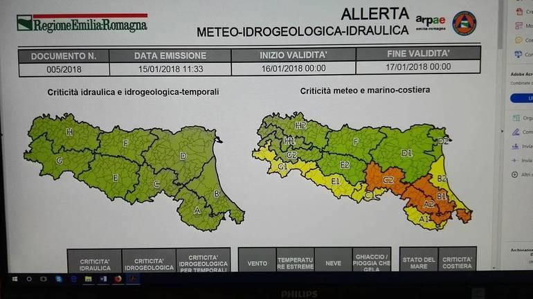 Allerta Meteo in Lazio, da domani 36 ore di vento forte
