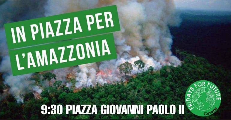Friday for future Cesena per l'Amazzonia