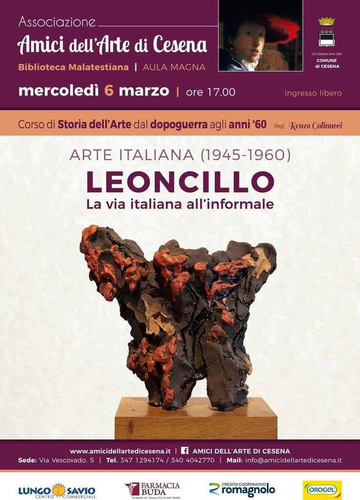 Leoncillo, la via italiana all'informale