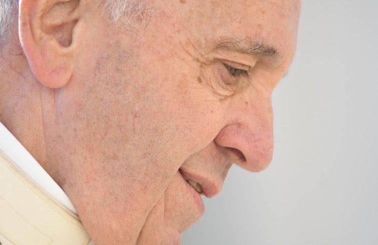 Papa Francesco all'udienza generale