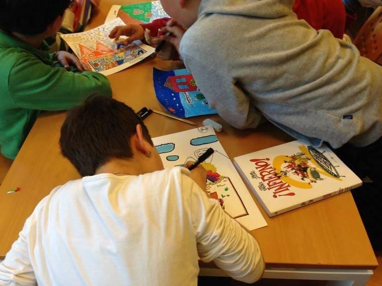Gatteo in biblioteca i bambini scoprono l 39 arte for Biblioteca di storia moderna e contemporanea