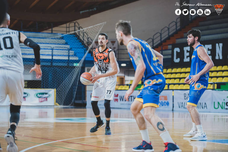 Tigers Cesena – All Food Enic Firenze, 73-76