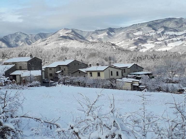 Altra neve in tutta la valle del Savio. Panorami mozzafiato / Valle ...