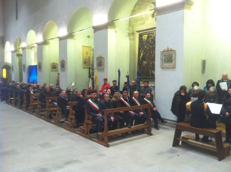 Questa mattina a bagno di romagna si celebrata la festa di san sebastiano valle savio home - San silvestro bagno di romagna ...